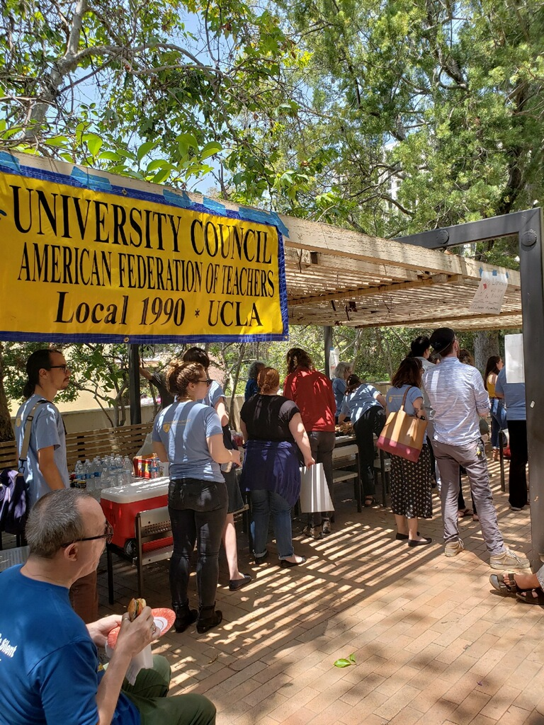 UCLA Special Collections' Temporary Librarians speak out at